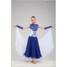 Платье для танцев стандарт Fenist Версаль 742