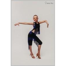Топ для танцев Fenist Сафари с погонами 1042