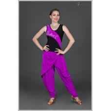 Блуза для танцев латина Fenist 315