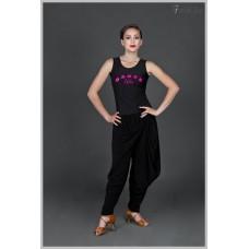 Блуза для танцев латина Fenist 317