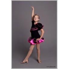 Блуза для танцев латина Fenist Pink 329