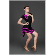 Блуза для танцев латина Fenist 318